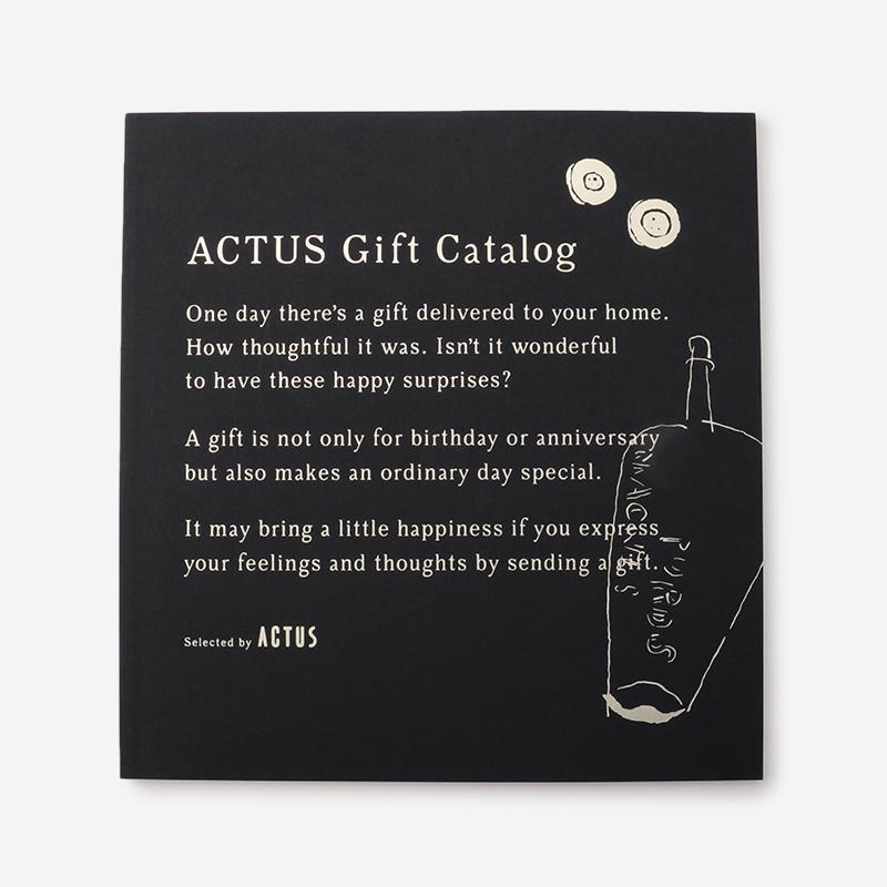 【リボン】ACTUSギフトカタログ M_B/ミッドナイトブルー