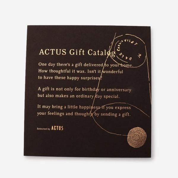【熨斗】ACTUSギフトカタログ D_B/ダークブラウン
