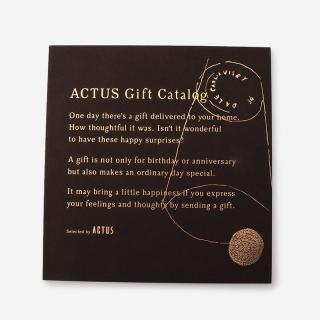 【リボン】ACTUSギフトカタログ D_B/ダークブラウン