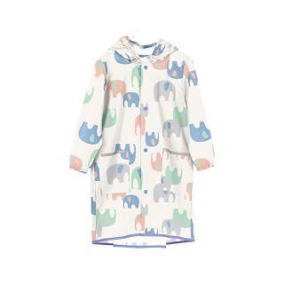 w.p.c for kids Raincoat Mサイズ  エレファント オフホワイト