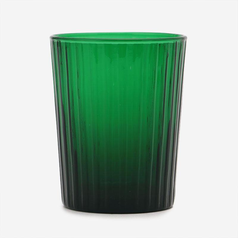 HAND MADE GLASS タンブラー グリーン