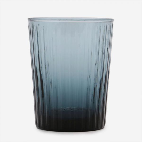 HAND MADE GLASS タンブラー ブルーグレー