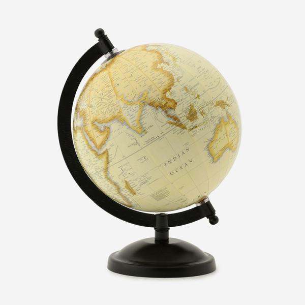 地球儀 IRON STAND BEIGE