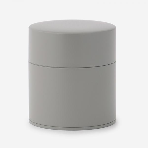 塗り缶 平型 グレー