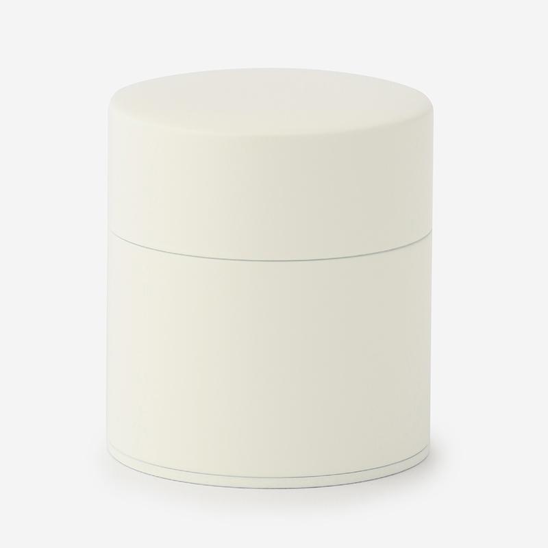 塗り缶 平型 ホワイト