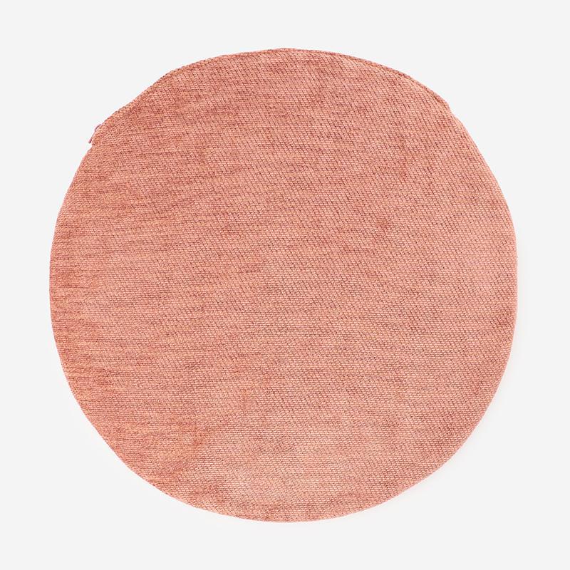CHENILLE-P チェアパッド ピンク