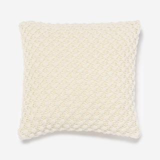 POPCORN クッションカバー 45cm角 ホワイト