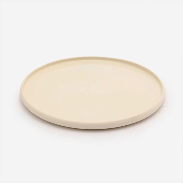 POTTERY CERAMIC ディナープレート R26cm ホワイト