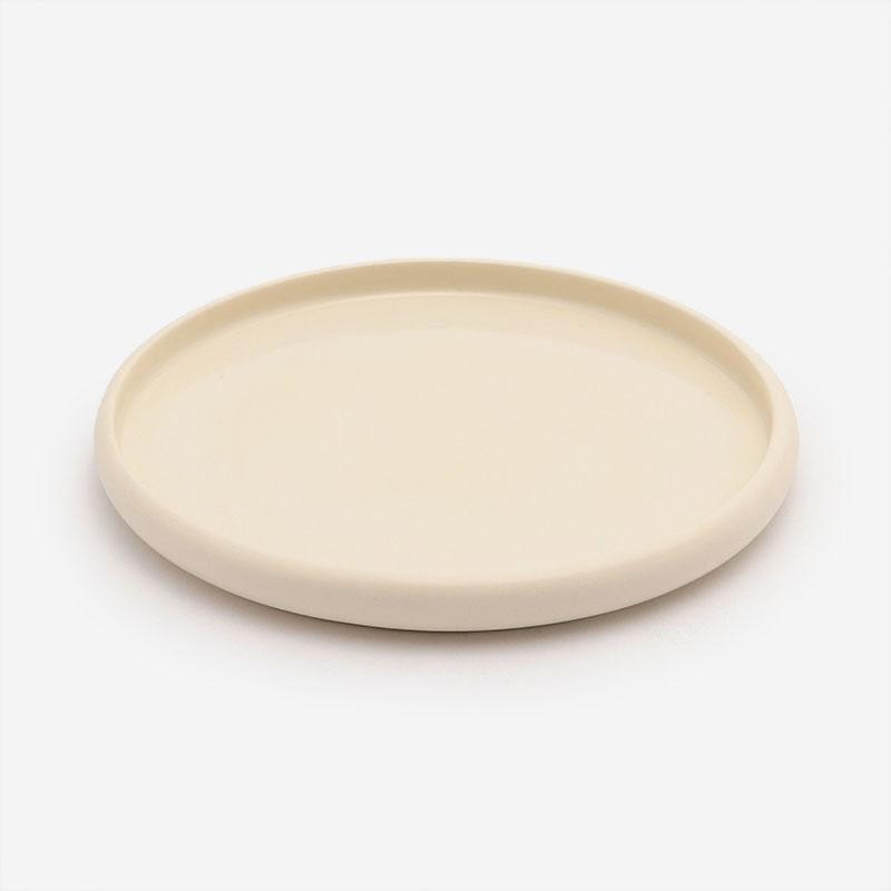 POTTERY CERAMIC デザートプレート R20cm ホワイト
