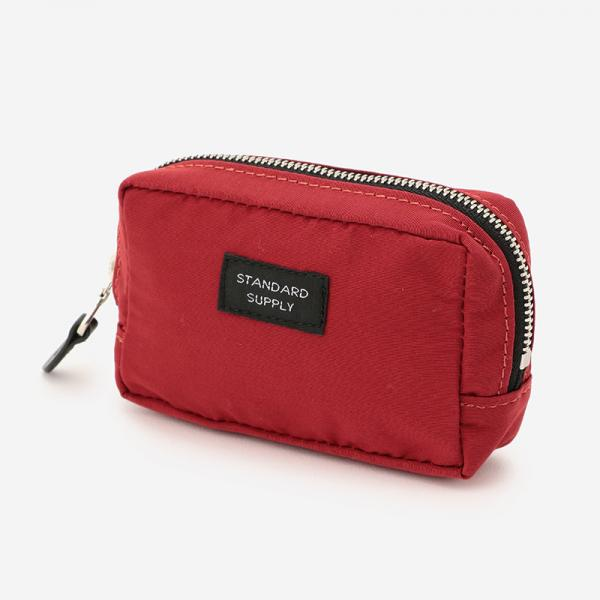 SQUARE POUCH Sサイズ RED