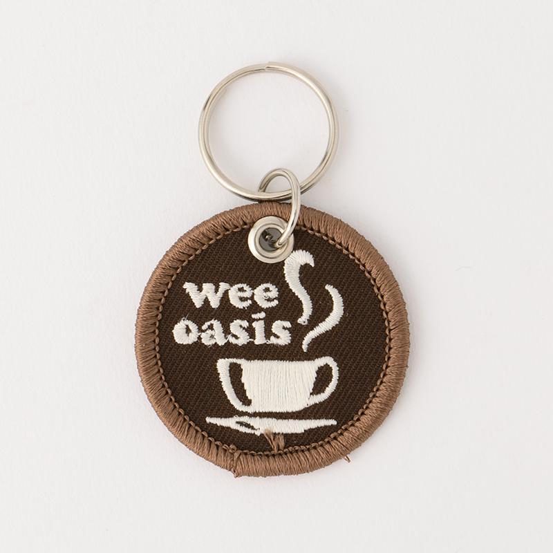 ステッチワークキーホルダー COFFEE