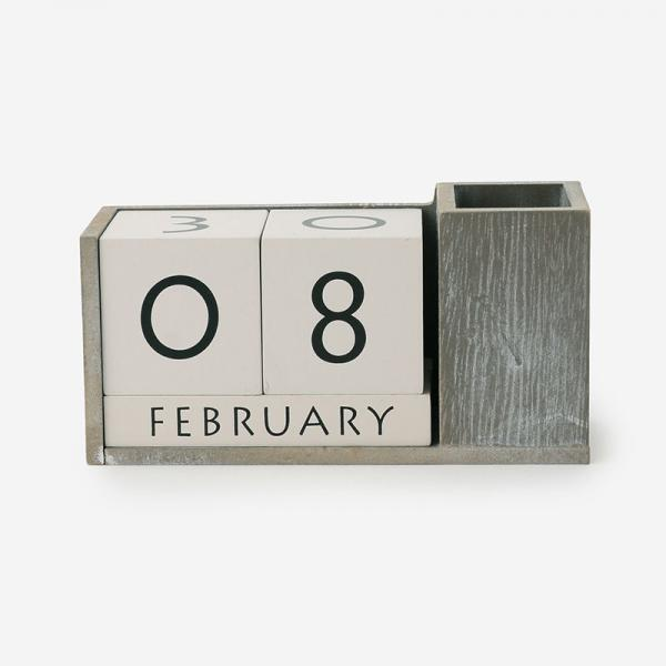 CUBE カレンダー A グレー