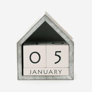 CUBE カレンダー B グレー