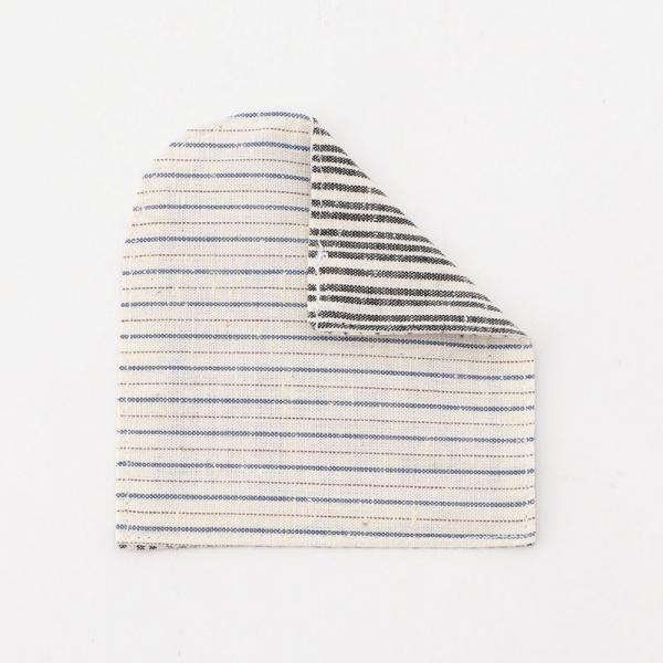 COASTER STRIPE(A) グレー/ホワイト