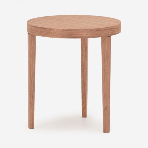【受注生産品 納期約35日】FB サイドテーブル R40 テーパードレッグ ウォールナット オイル