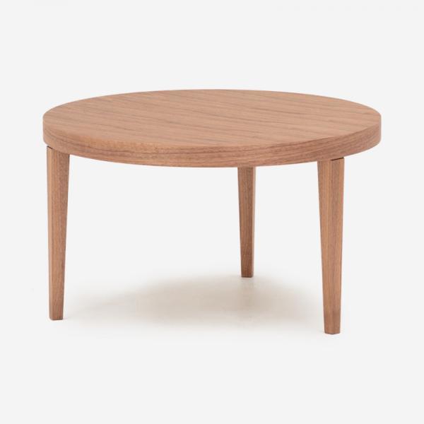 【受注生産品 納期約35日】FB サイドテーブル R60 テーパードレッグ ウォールナット オイル