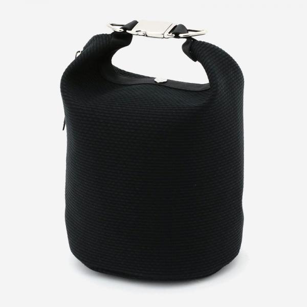 CaBas No.75 Roll top bag small Black/Black