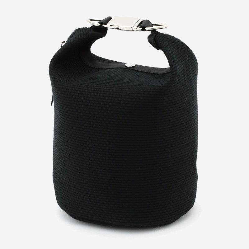 CaBas No.75 Roll top bag small Black/Black
