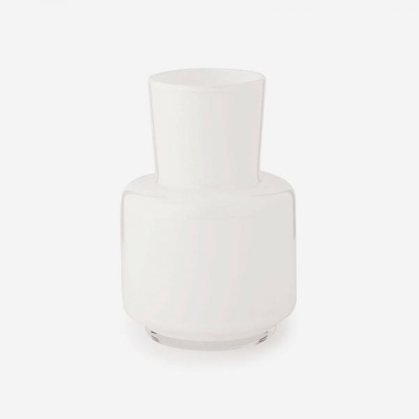 SERENE ガラスフラワーベース  Sサイズ ホワイト