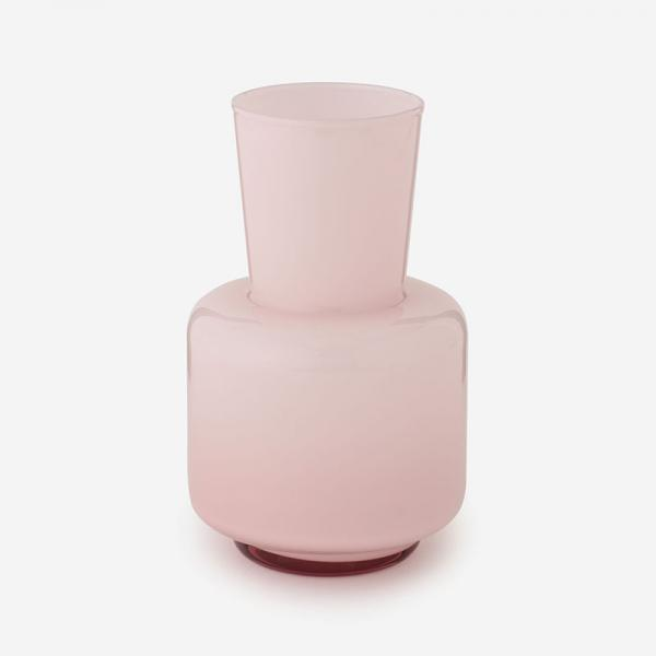 SERENE ガラスフラワーベース  Mサイズ ピンク