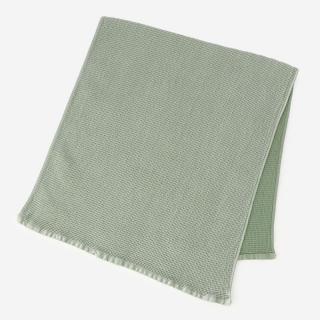 FAJA ワッフルバスタオル 65×120cm グリーン