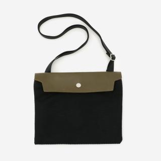 CaBas No.60 Micro shoulder bag M Black/Olive