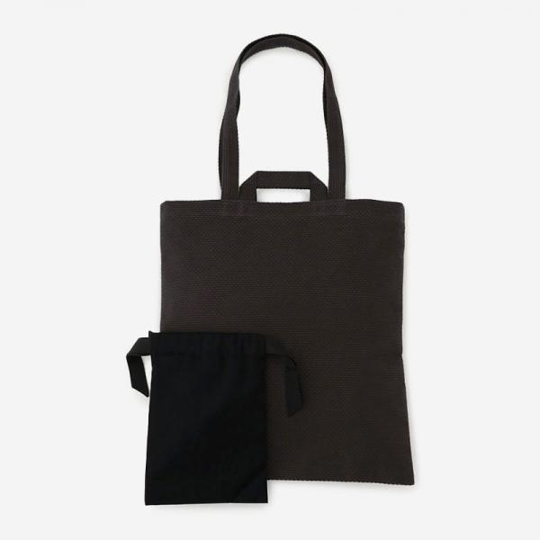 CaBas No.64 Fordable tote Gray/Black