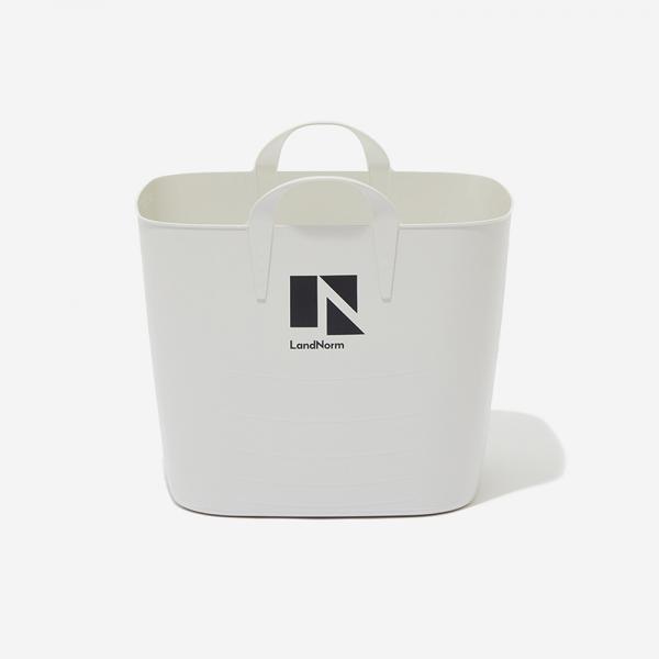 LN バスケット Lサイズ(40L) グレー