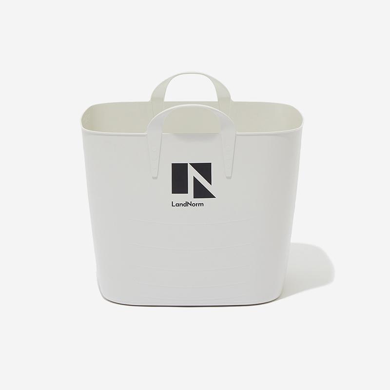 LandNorm バスケット Lサイズ(40L) グレー