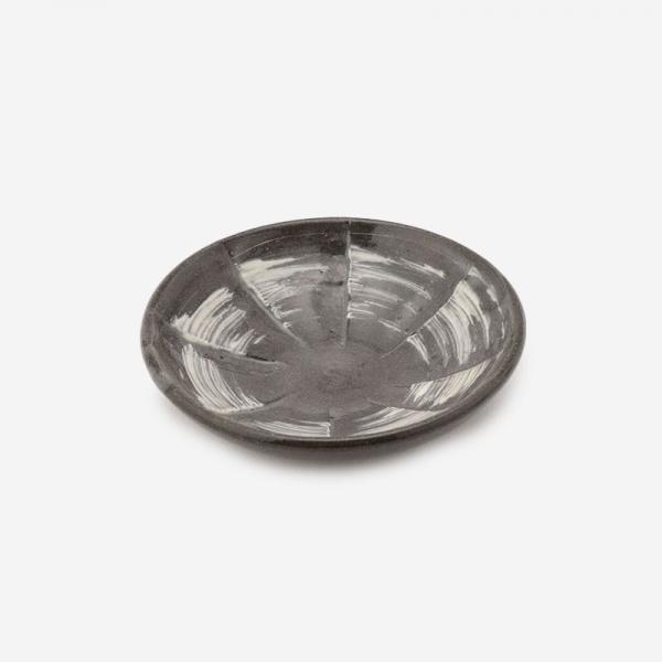 笠間焼 豆皿 刷毛目