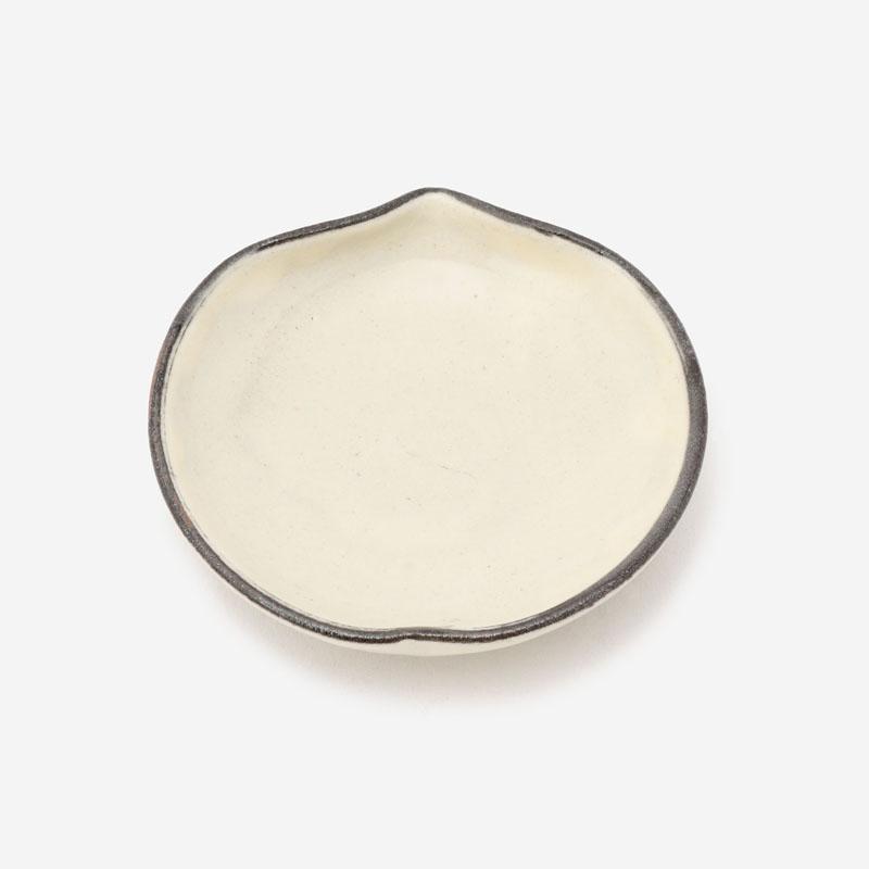 笠間焼 豆皿 モモノミ