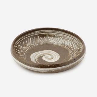 美濃焼 山兵製陶 刷毛目ミシマ漬物鉢