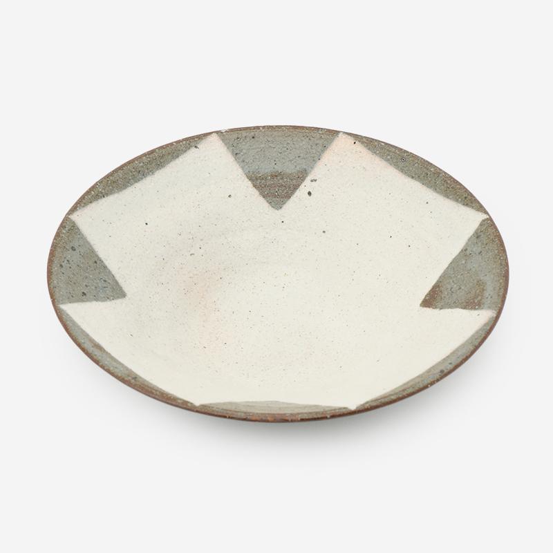 美濃焼 山兵製陶 粉引十文字反り鉢