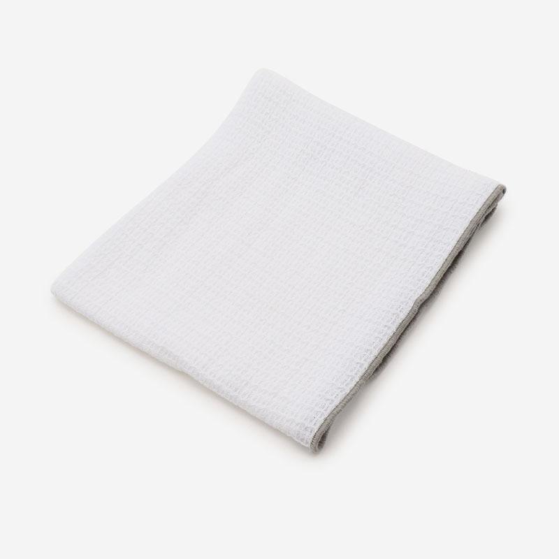 ディッシュクロス シャンブレー 42×62cm ホワイト