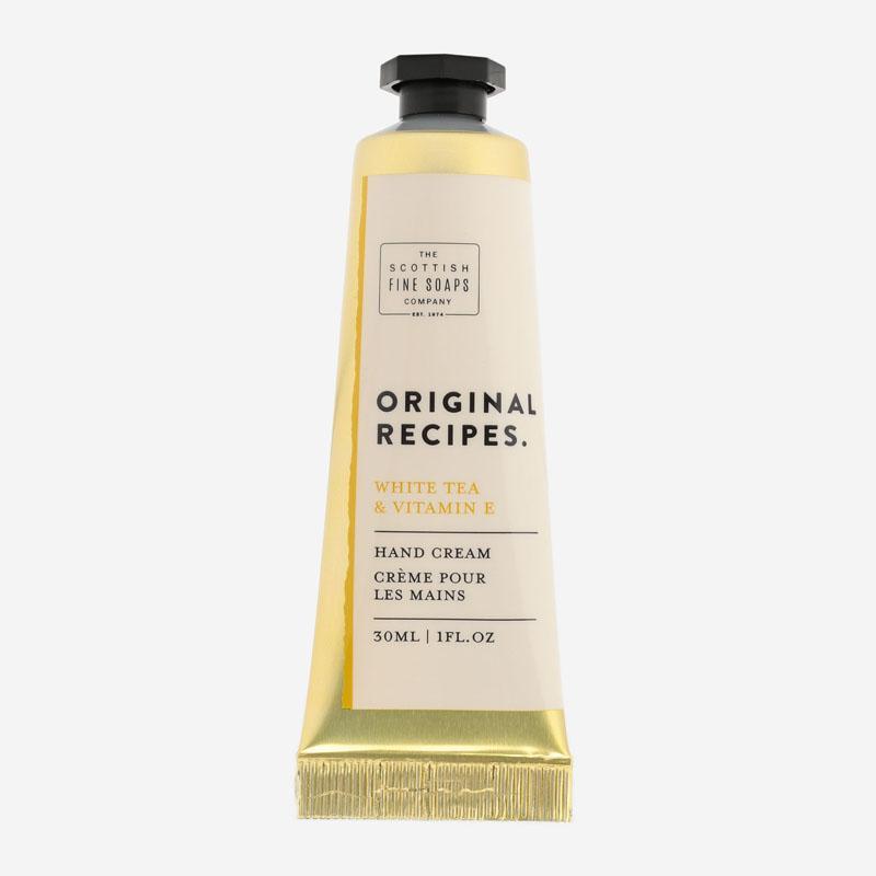 ORIGINAL RECIPES ハンドクリーム ホワイトティー&ビタミンE