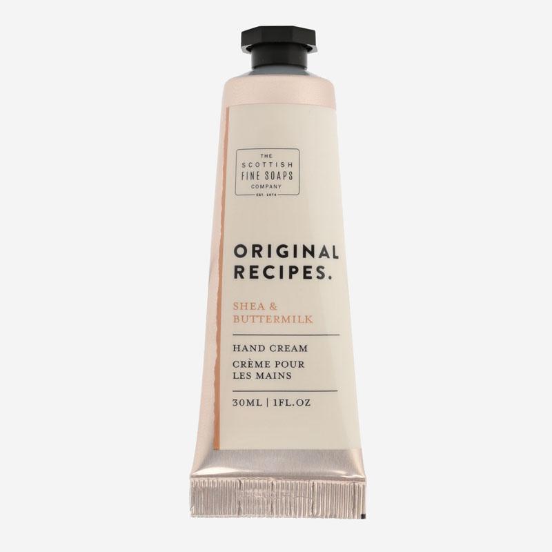 ORIGINAL RECIPES ハンドクリーム シアバター &バターミルク
