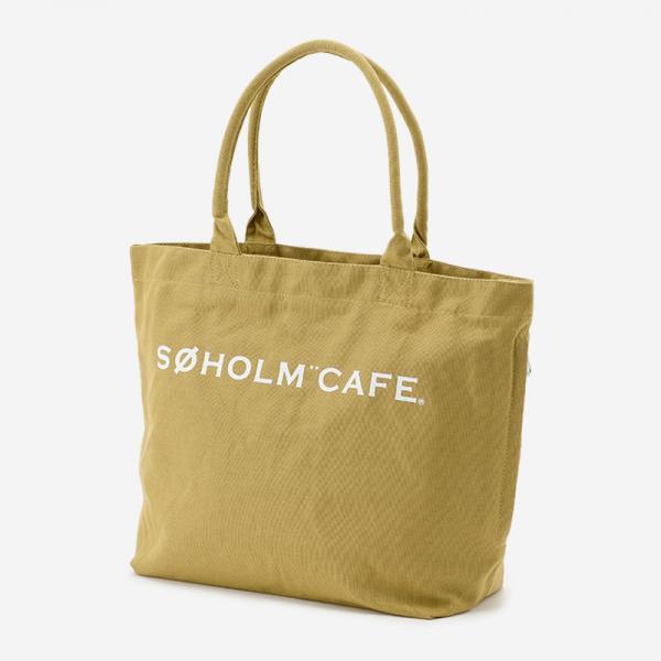SOHOLM CAFE スーホルムバッグ ビッグ ベージュ