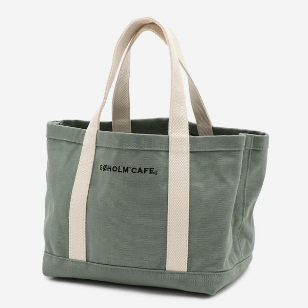 SOHOLM CAFE BAG BASIC TOTE 20SS グリーン