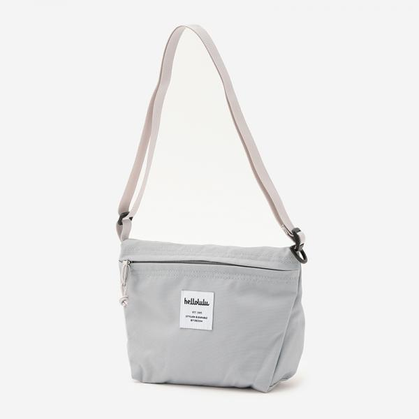 Hellolulu MINI CANA コンパクトショルダーバッグ for KIDS ライトグレー