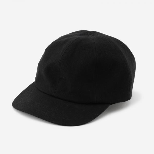 Nine Tallor SEEMA CAP ブラック