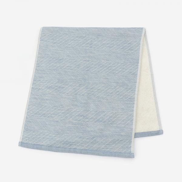 SOU フェイスタオル 34×80cm ブルー