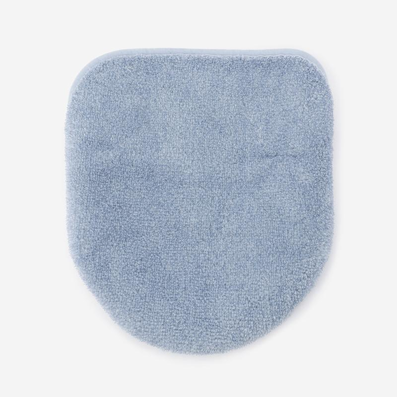 SOU トイレ蓋カバー ブルー
