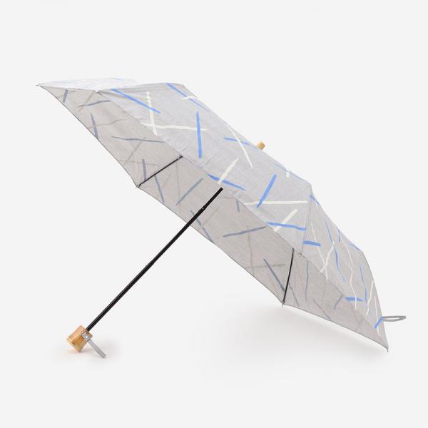 METTE UMBRELLA 晴雨兼用折り畳み傘 グレー