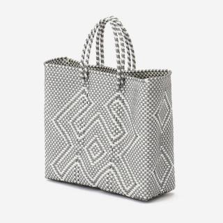MERCADO BAG CANGREJO S シルバー/ホワイト