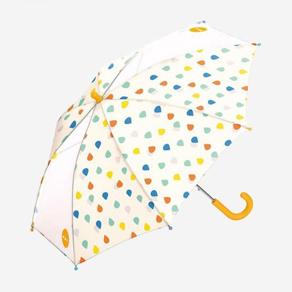 Wpc. for kids 雨傘 45cm ドロップオフホワイト