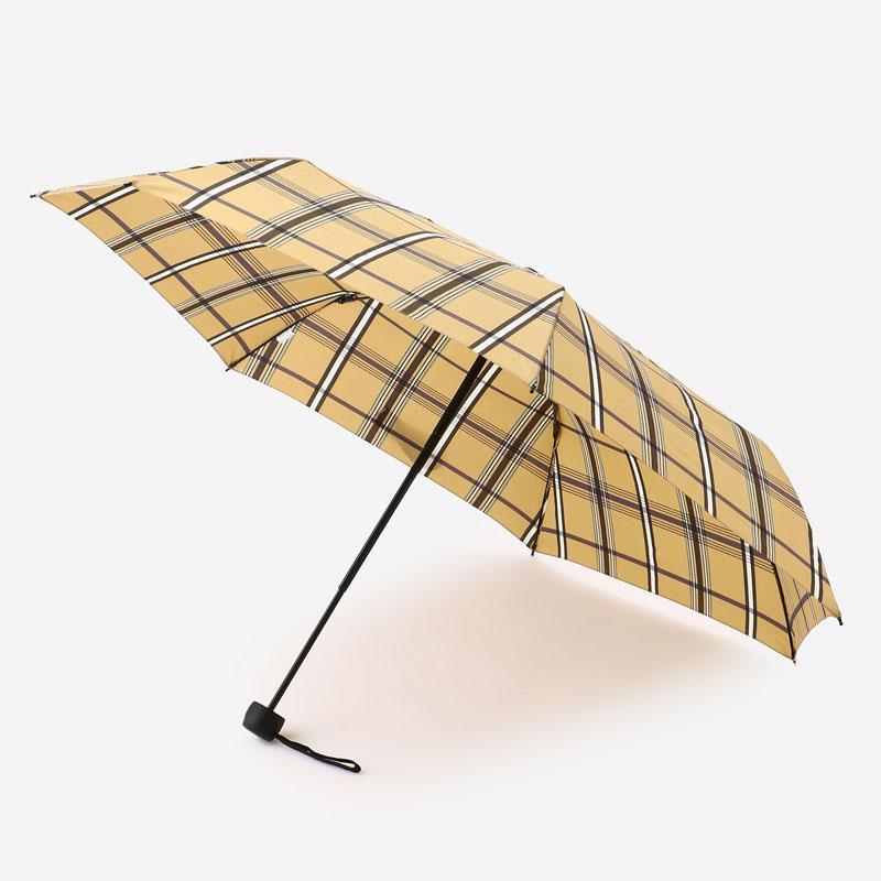W.P.C BASIC FOLDING UMBRELLA(雨傘)  ブラウンチェック