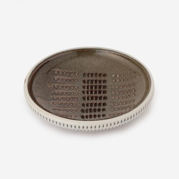 小石原焼 おろし皿 トビカンナ