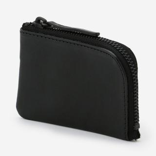 eauk LEATHER KEY WALLET BLACK