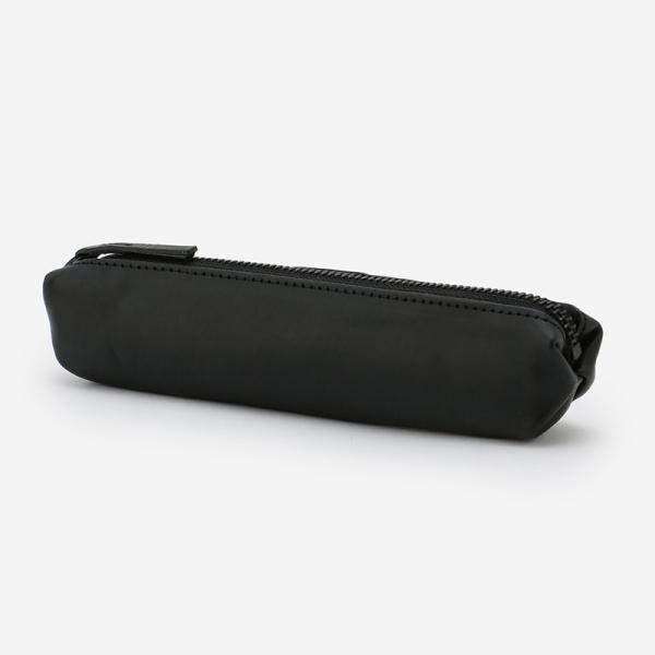 eauk LEATHER PEN CASE BLACK