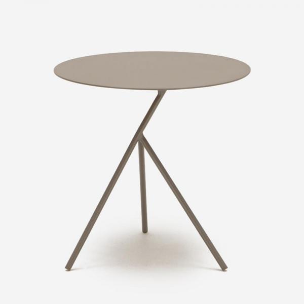 LUNA SIDE TABLE BROWN